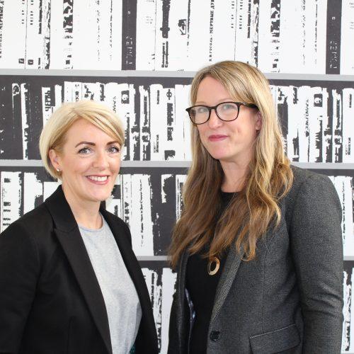 Job share team Jo Hardiman & Sara Swift